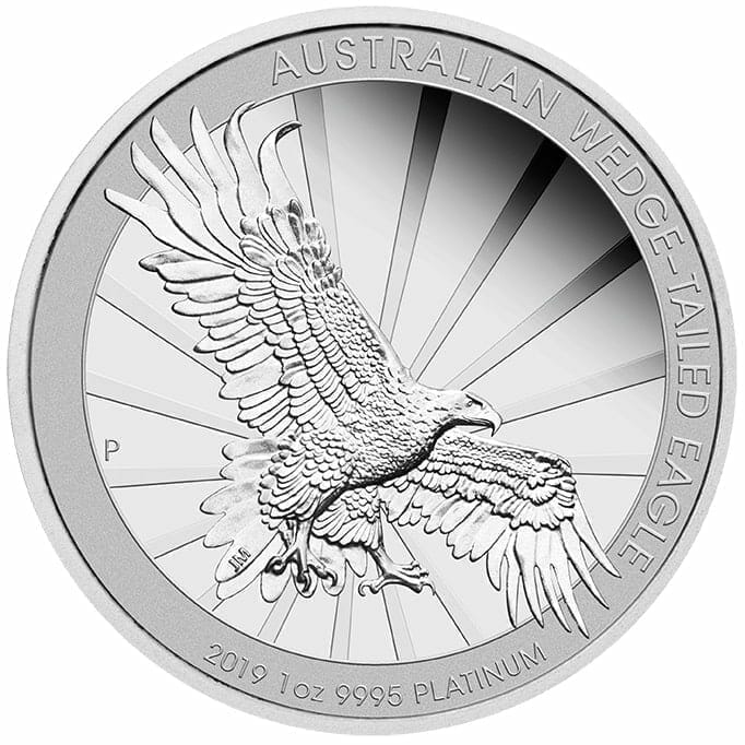 2019 Australian Wedge Tailed Eagle coin .999 fine silver